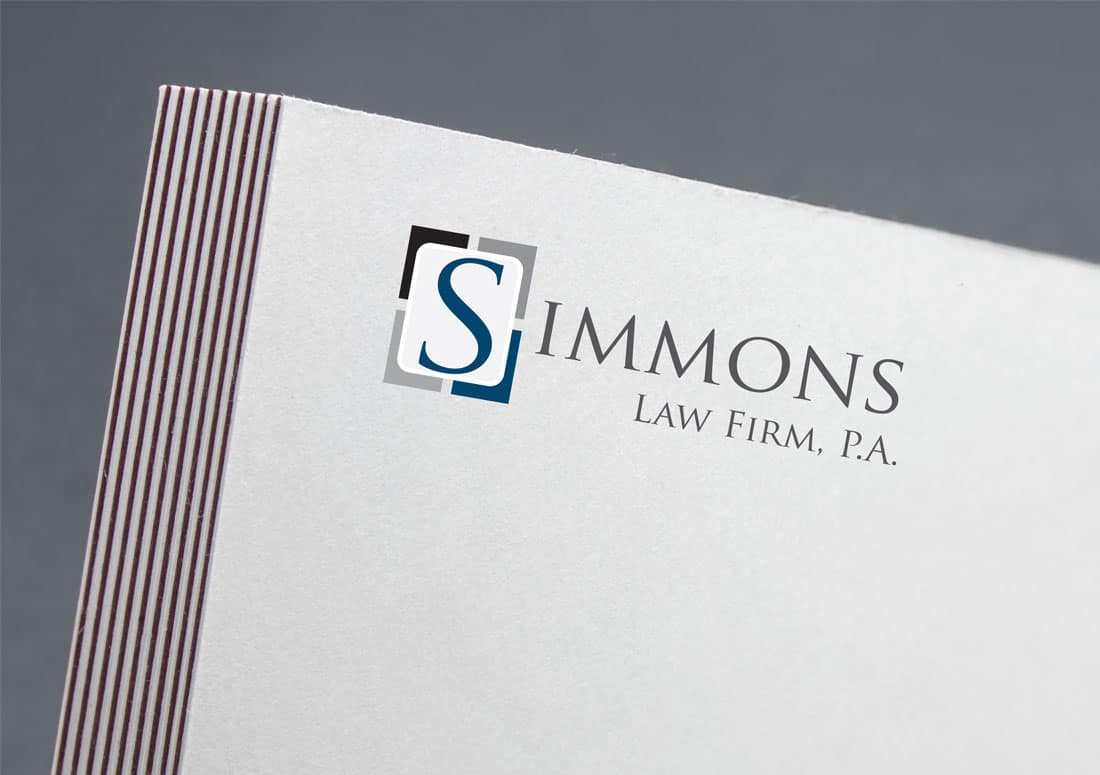 Simmons Lawfirm logo as a letterhead.