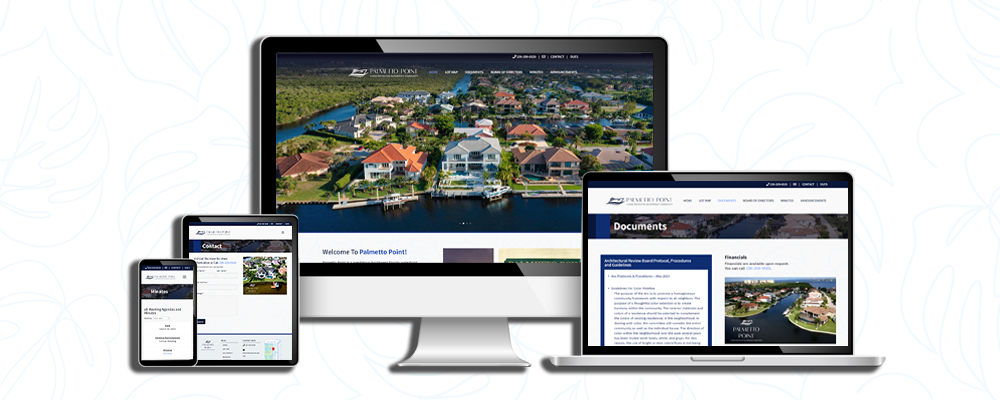 Brand New Website for Palmetto Point